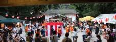 上山集楽夏祭り
